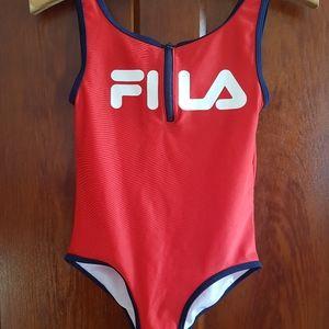 Girls size 10 FILA bathing suit